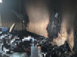 В квартире найден труп мужчины с ожогами