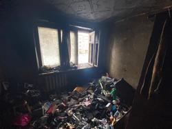 Из-за загоревшейся в квартире мебели погиб мужчина