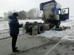 СУ СКР: мужчина погиб в кабине тягача из-за газовой горелки