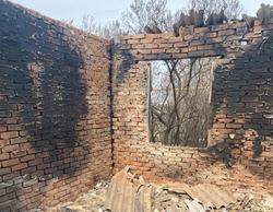 Житель вымирающего села погиб на пожаре