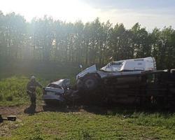 Жертвами автокатастрофы на 'встречке' стали двое взрослых и двое детей