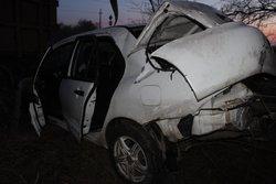 В опрокинувшемся в кювет автомобиле погиб пассажир