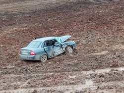 В аварии пострадали водитель 'Приоры' и 6-летний мальчик