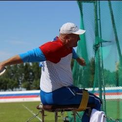 Метатель-паралимпиец выиграл российское 'золото'