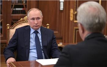Путин поручил Александру Уссу проверить ремонт дорог в Красноярском крае