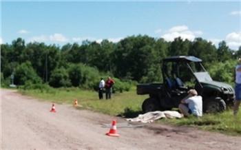 Следователи возбудили уголовное дело после гибели 15-летнего водителя мотовездехода в Шарыповском районе