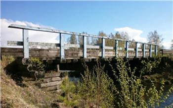 В 15 районах Красноярского края за год отремонтировали 24 моста