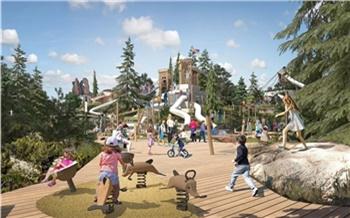 Детские крепости, водоемы и летний кинотеатр: в Красноярске выбрали победителя конкурса концепций развития Центрального парка