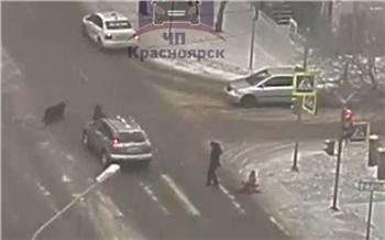 «Тупо ехал на красный»: на улице Ладо Кецховели пожилой водитель сбил ребенка и мужчину