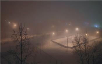 В Красноярске из-за морозов вводят режим «чёрного неба»