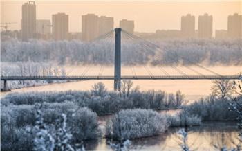 В Красноярский край пришли экстремальные морозы до −55 °C