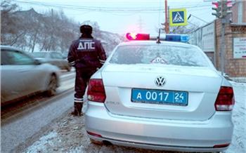 Дорожные полицейские попросили красноярцев сообщать о пьяных водителях