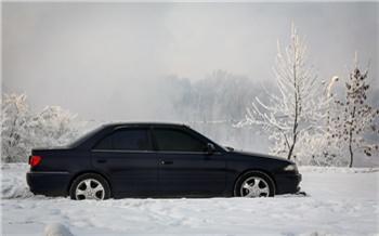 Из-за морозов на трассах Красноярского края развернули пункты экстренной медицинской помощи