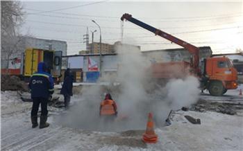 Коммунальная авария оставила без тепла десятки домов Октябрьского района и госпиталь