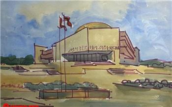 Красноярский музей «Площадь Мира» показал, каким видел музей Ленина архитектор Арэг Демирханов