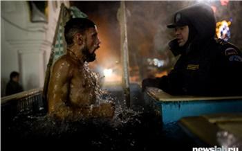 Полиция обещает штрафовать красноярцев за купание в Крещение