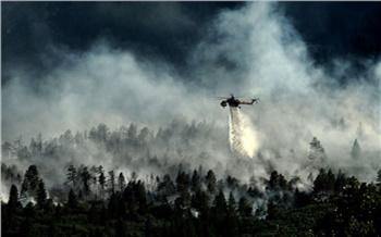На создание лесопожарного центра в Красноярском крае федерация выделила 5 млрд рублей