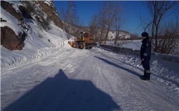 За сутки в Красноярском крае сошло 11 лавин