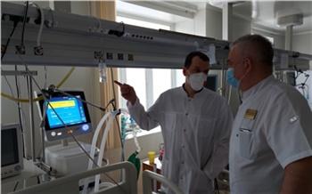 Для реанимации красноярской БСМП купили три аппарата вентиляции легких экспертного класса