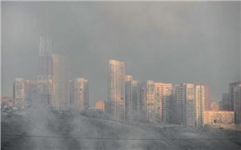 «Смог и безветрие»: Красноярск погрузился в дымку