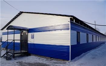 Для отправленных на принудительные работы заключенных в красноярской колонии построили новое общежитие