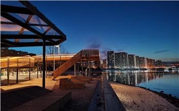 На Ярыгинской набережной и в красноярских парках к лету построят четыре кафе