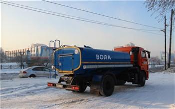«КрасКом» машинами будет подвозить питьевую воду жителям Студгородка
