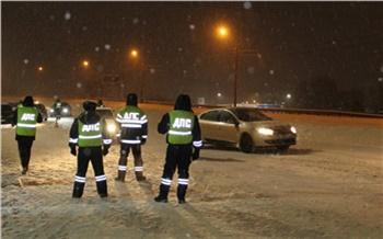 В последние выходные января в Красноярске поймали 40 пьяных водителей