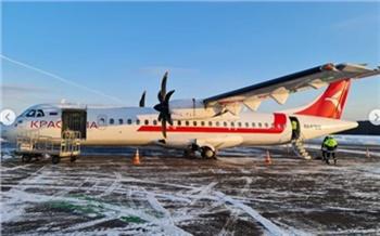«Исторический момент»: красноярская авиакомпания открыла полеты на ATR 72