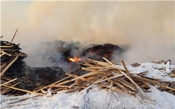 Красноярская прокуратура приостановила работу лесопилки из-за сжигания отходов вблизи села