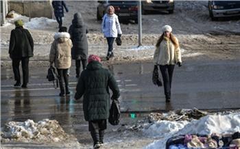 В Красноярск идет тепло