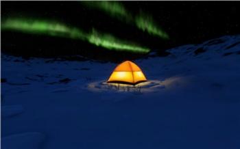 Увидеть северное сияние над плато Путорана теперь можно онлайн в VR-формате