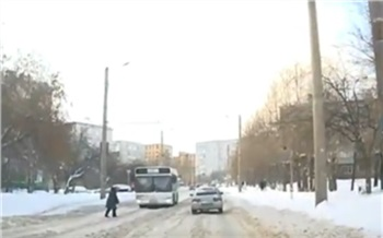 На Крупской 79-летняя нарушительница попала под колеса автобуса