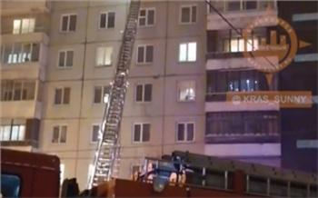 На пожаре в Солнечном погиб подросток