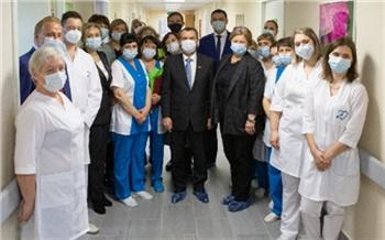 В Зеленогорске открылось отделение паллиативной помощи при ФМБА России. Там будут помогать неизлечимым больным