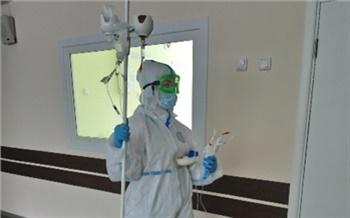 В Красноярской больнице скорой помощи закрыли один из госпиталей долечивания коронавируса