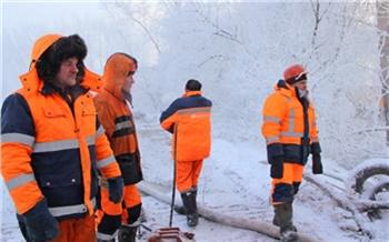 Ночью из-за ремонта трубопровода порядка 130 домов в Октябрьском районе Красноярска останутся без холодной воды