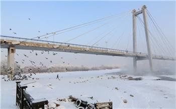 Красноярск ненадолго захватил холод. А на юге региона температура выше нормы