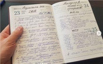 Красноярцы похвалили красивый почерк мэра