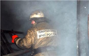 В результате пожара на севере Красноярского края погиб человек