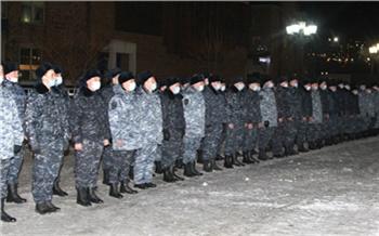 Из Чечни вернулись 102 красноярских полицейских