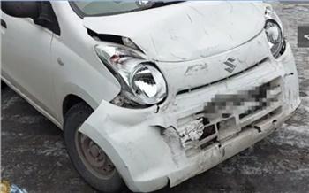 Красноярка с ребенком в машине уснула за рулем и устроила массовое ДТП