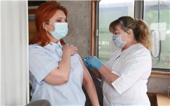 На Красноярской железной дороге начал работу передвижной пункт вакцинации от коронавируса