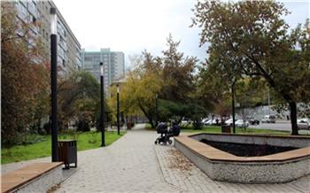 В Красноярске в этом году появится еще два двора-сквера