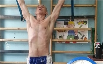 Красноярец подтянулся 4 098 раз и побил очередной рекорд