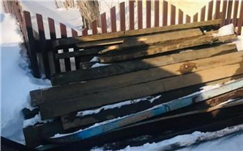В Красноярском крае мужчина украл 360 килограммов металла, чтобы отремонтировать гараж