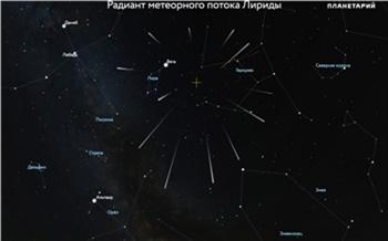Апрель «подарит» красноярцам первый весенний звездный дождь