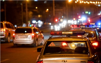 В Ачинске со стрельбой и погоней задержали пьяного водителя