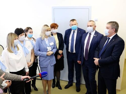 В Брянске открыли ясельную пристройку к детскому саду «Голубые дорожки» в рамках нацпроекта «Демография»