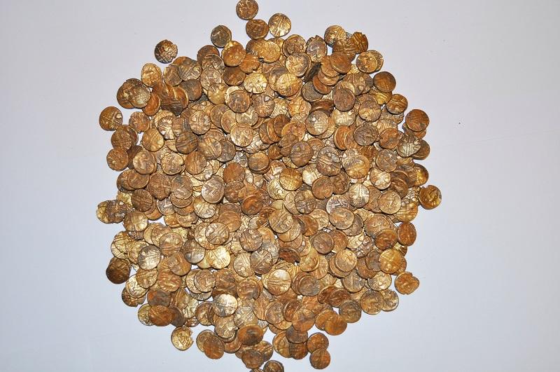 Британец обнаружил клад кельтских золотых монет